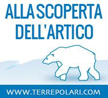 alla scorpeta dell'artico con terre polari