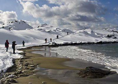 Lofoten-playa trekking-Sto-Paula-Valle-Tierras-polares noruega