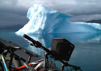 Ruticicleta en Groenlandiaba de