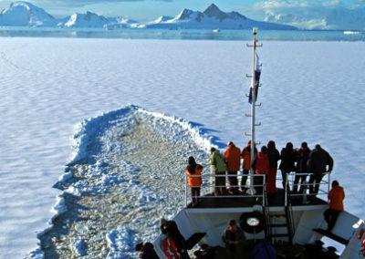 Crucero en Antártida