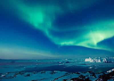 Auroras_Boreales_Groenlandia Tierras Polares