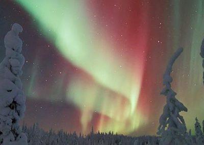 finlandia tierras polares auroras boreales