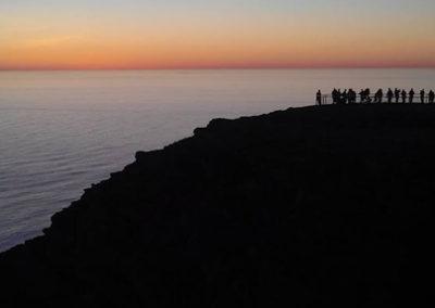 esfera-cabo-norte noruega tierras polares sol de media noche