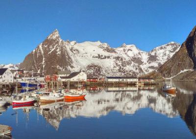 viaje a las islas Lofoten en primavera