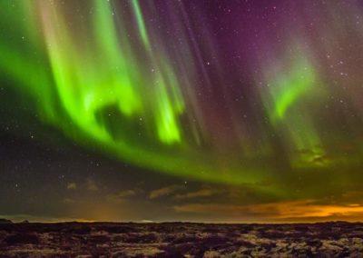 Aurore boreali Islanda