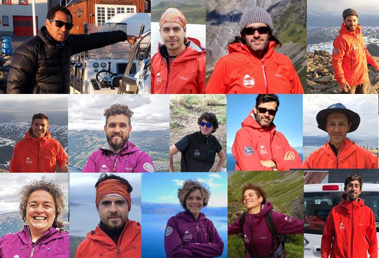 Staff de Tierras Polares en Noruega